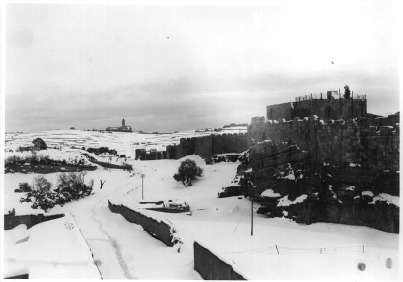Haram al-Sharif: North Wall of Old City