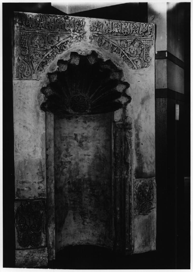 Mihrab from next to Mashhad of Yahya al-Shabih (MIA, Cairo)