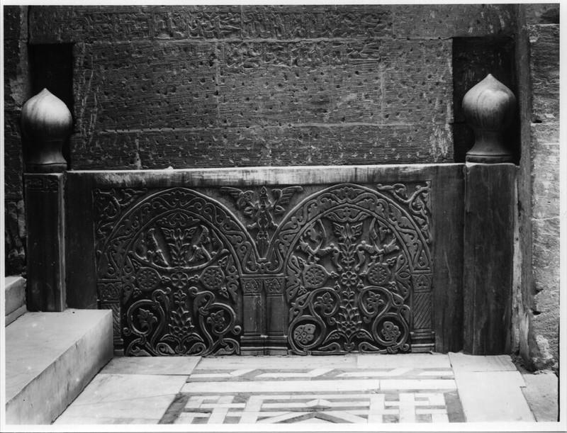 Mausoleum of Sultan Qaytbay, reused Armenian-style Christian