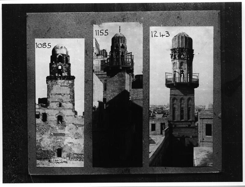 Minarets of al-Juyushi, Abu'l Ghadanfar and Sultan Salih