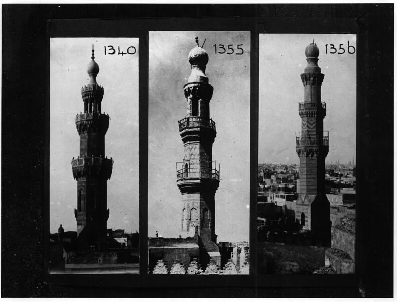 Minarets of al-Maridani, Shaikhu and similar to Sarghitmish