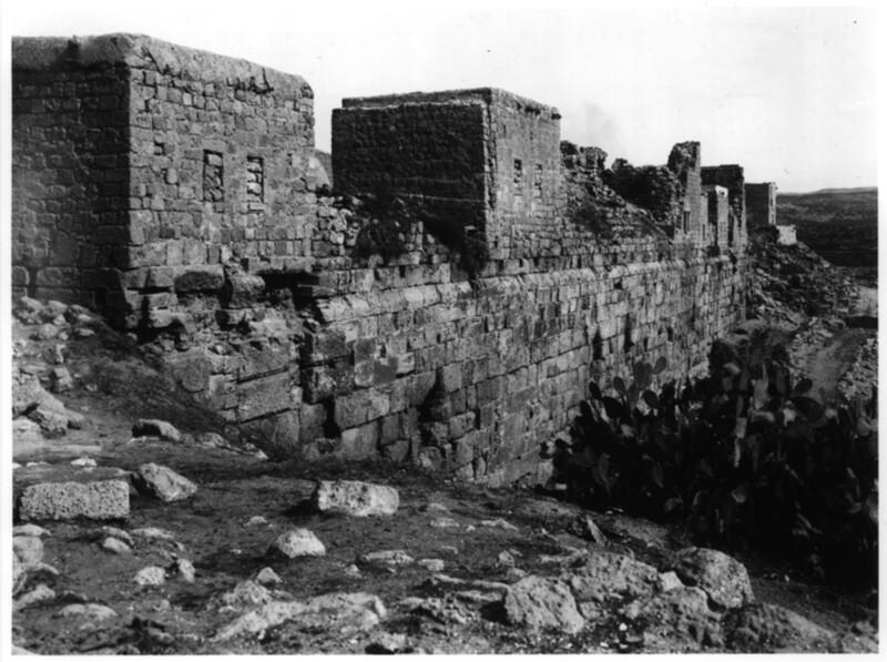 Templar Castle, south wall