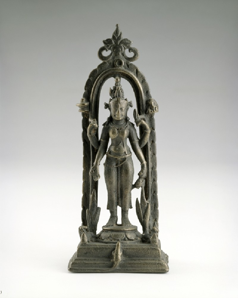 Figure of Siddha (front          )