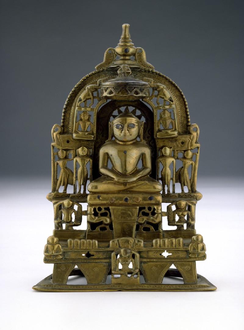 The Tirthankara Kuntunatha (EAOS.108, front          )