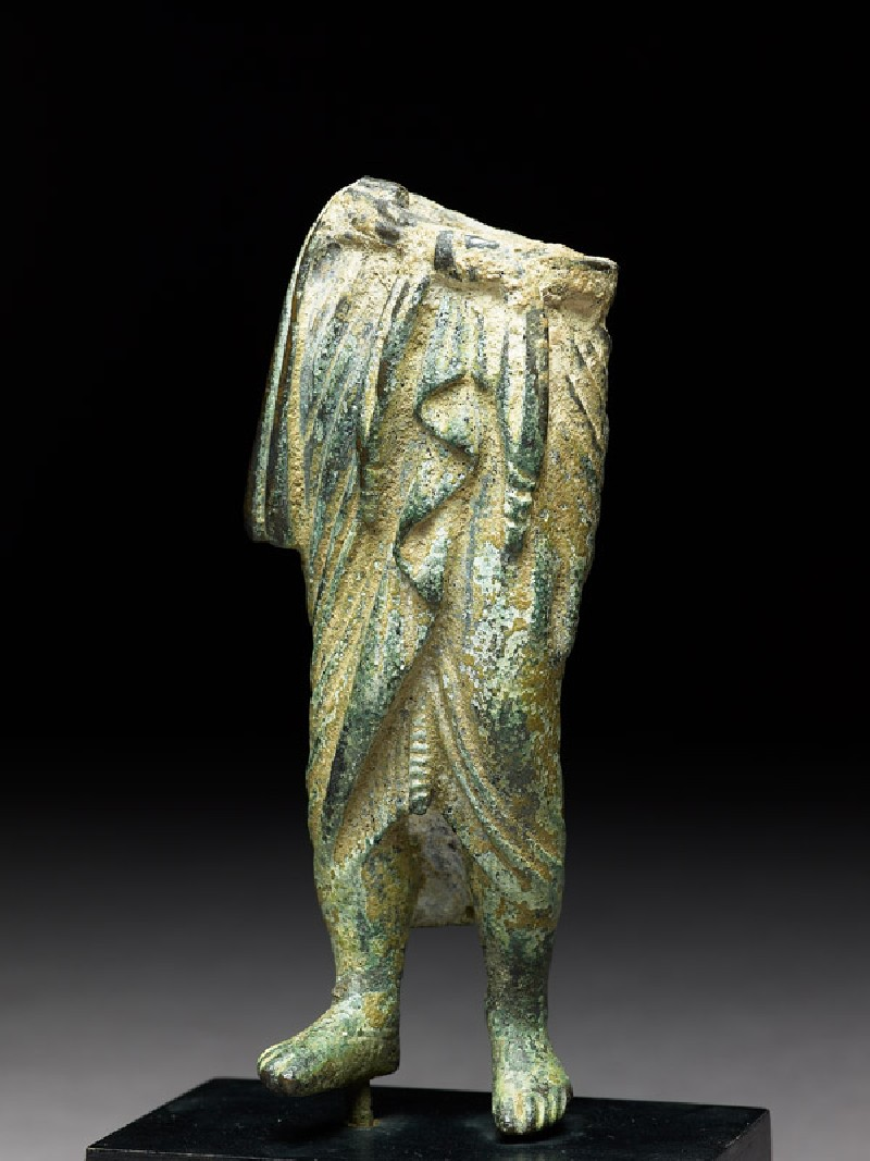 Fragmentary standing figure (EAOS.13.a, side           )