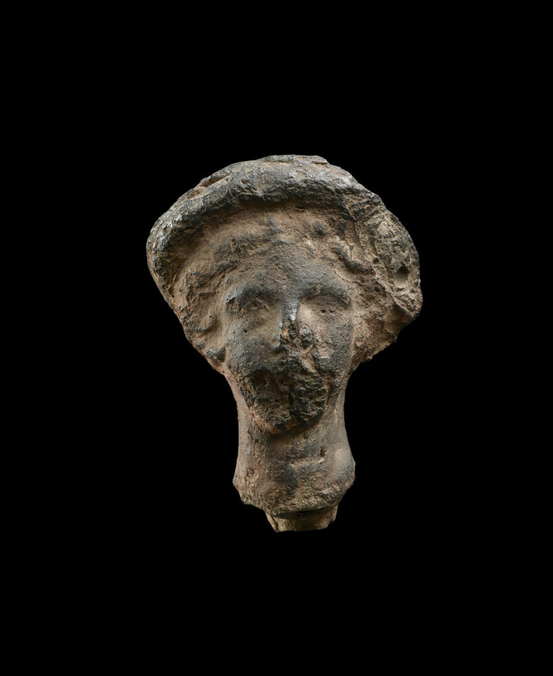 Fragment of classical head