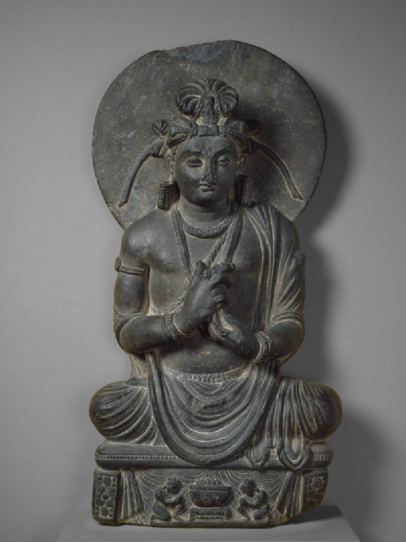 Teaching bodhisattva (front         )