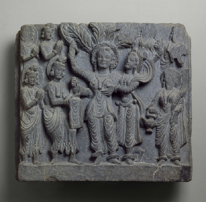 Relief depicting the birth of the Siddhartha Buddha (EAOS.3)