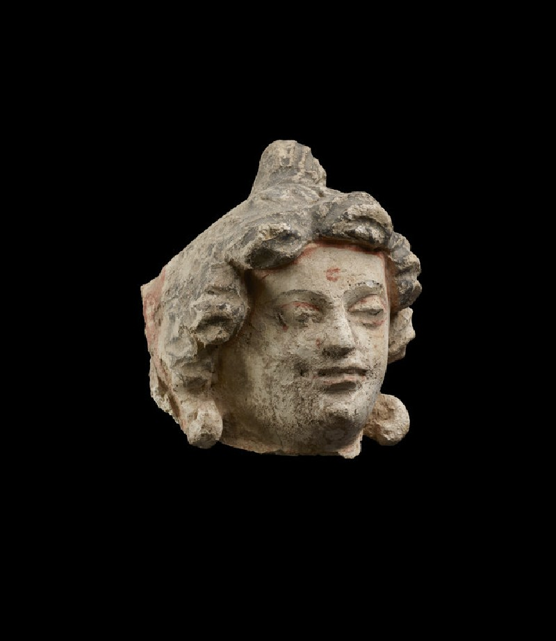 Head of a worshipper (EAOS.46)