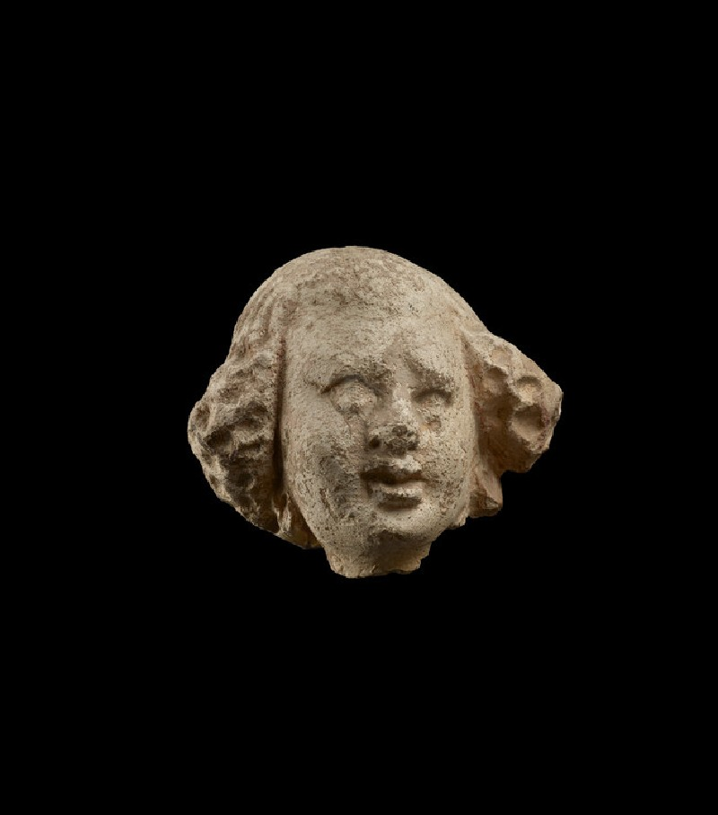 Fragmentary female head