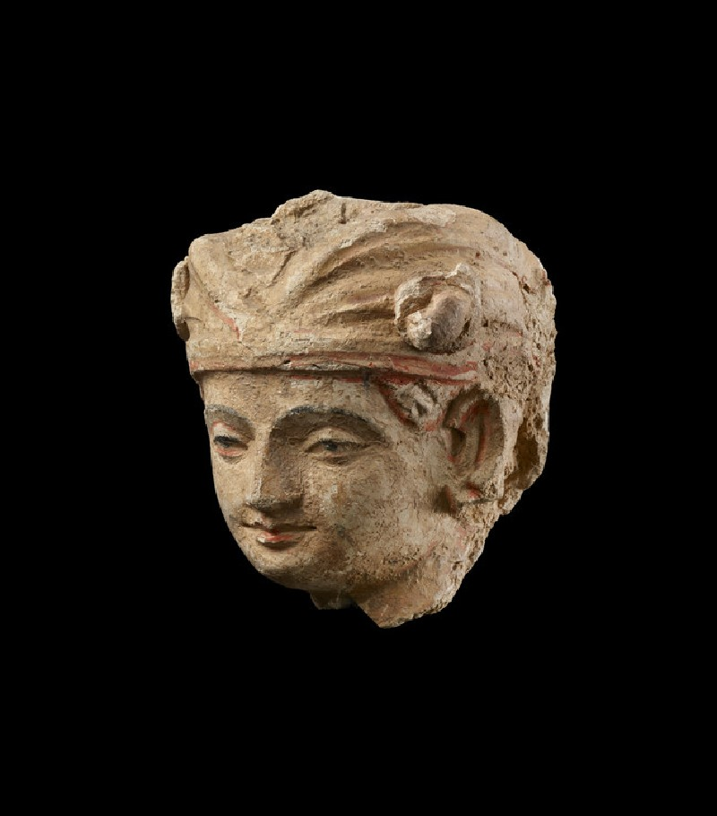 Head of a worshipper (EAOS.48)