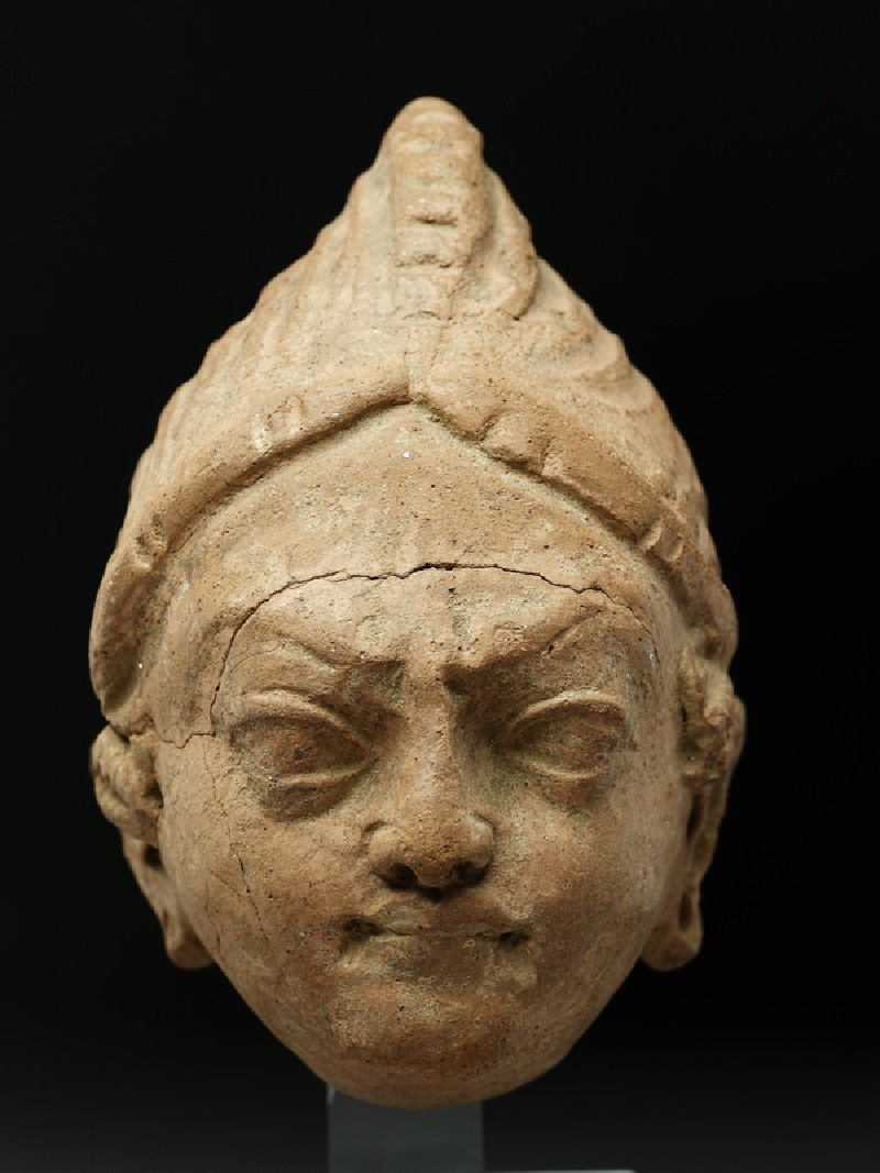 Head of a warrior (EAOS.50.a, front           )