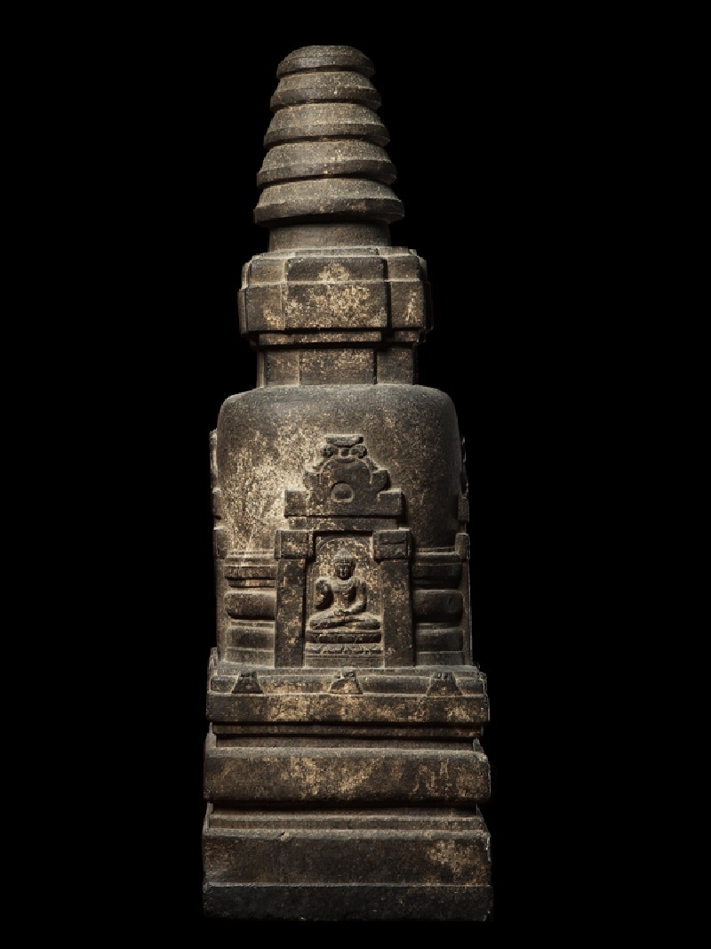 Votive stupa (EAOS.57, side         )