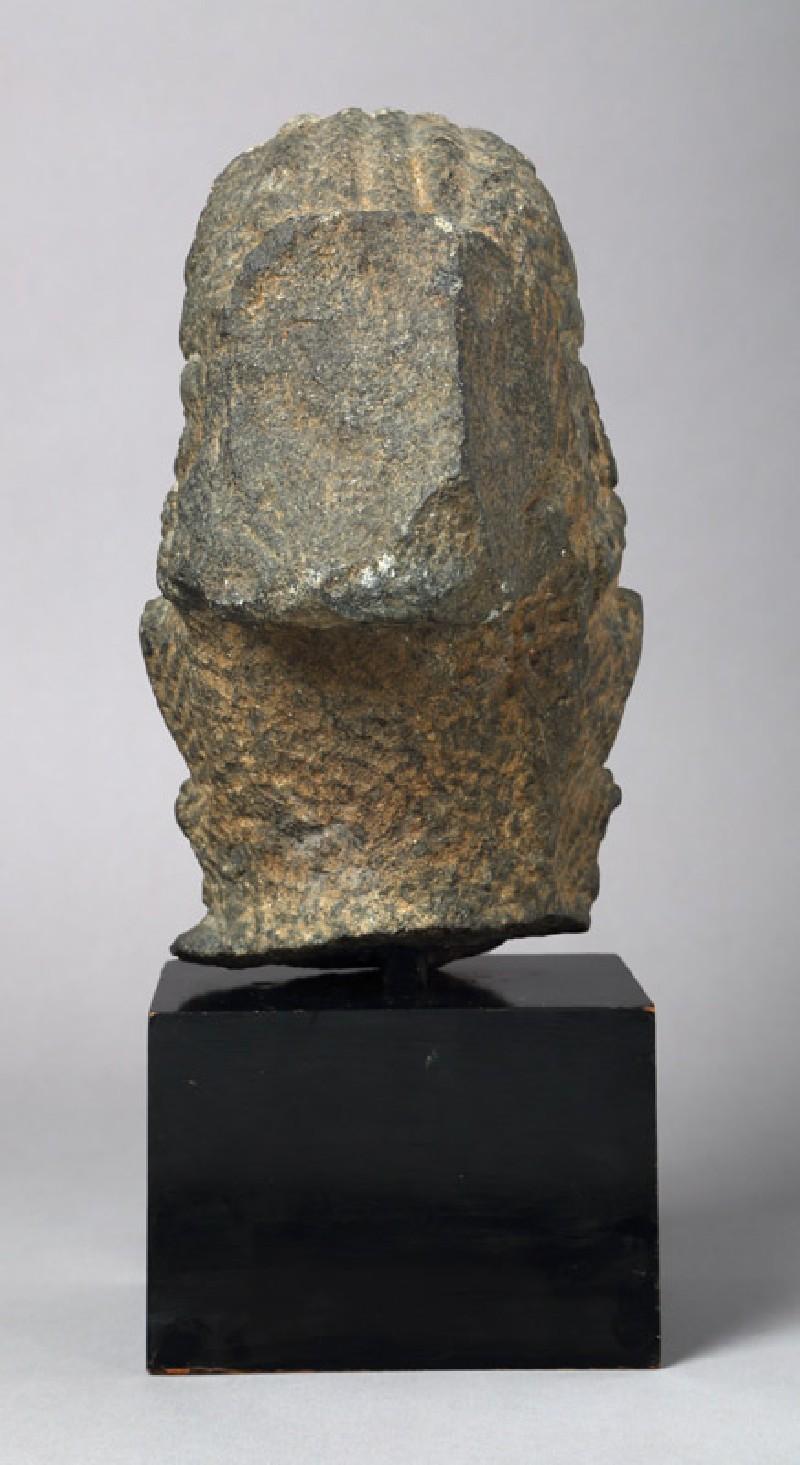 Head of the bodhisattva Avalokiteshvara (EAOS.61, front         )