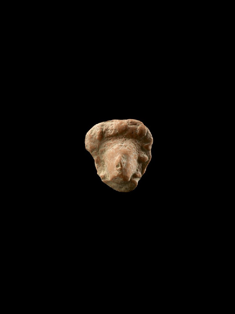 Wreathed head of a figure, probably a deity (EAX.164)