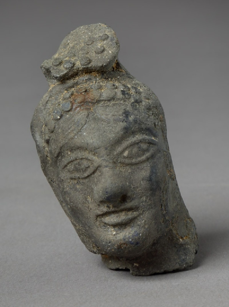 Head of a female figure (EAX.194, front         )