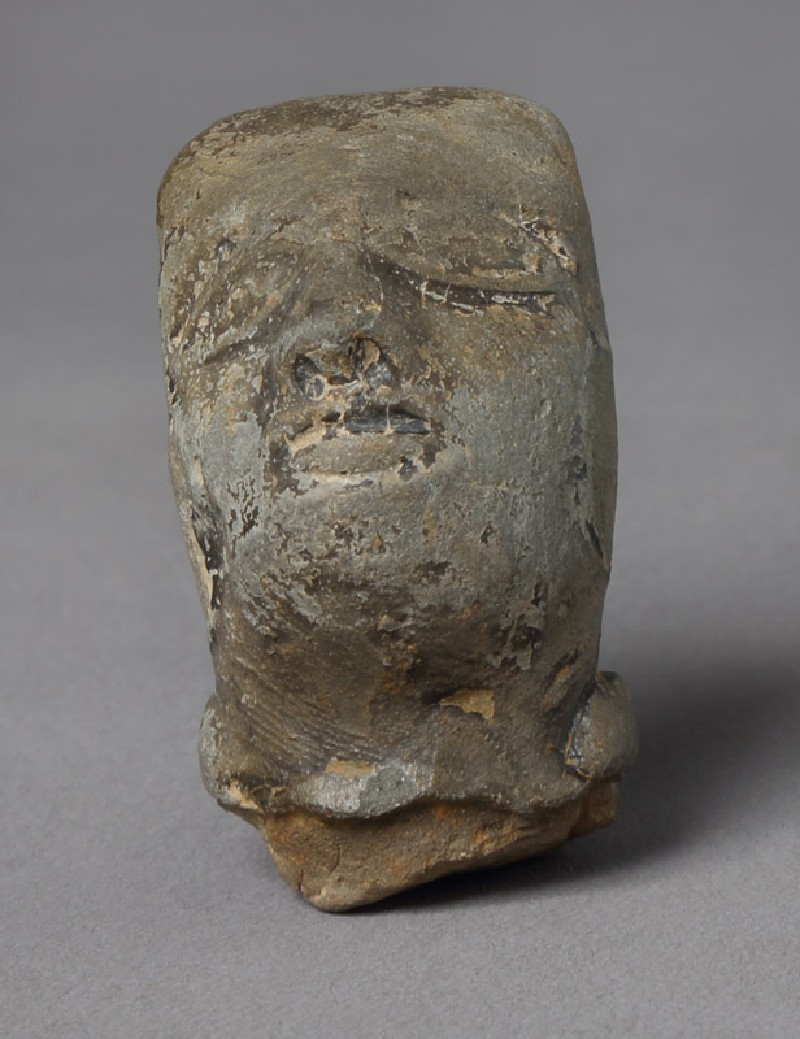 Head of a male figure (front         )