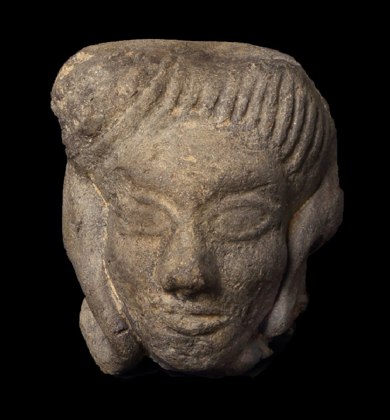 Head of a male figure (EAX.200, front         )