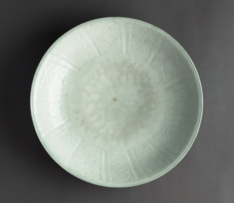 Plate with incised decoration (EAX.1209, top          )