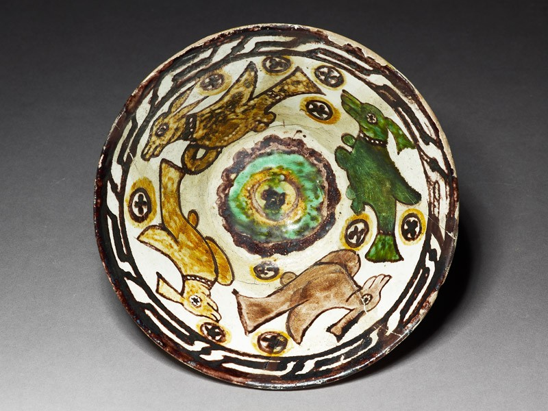 Bowl with beasts (EAX.3022, top          )