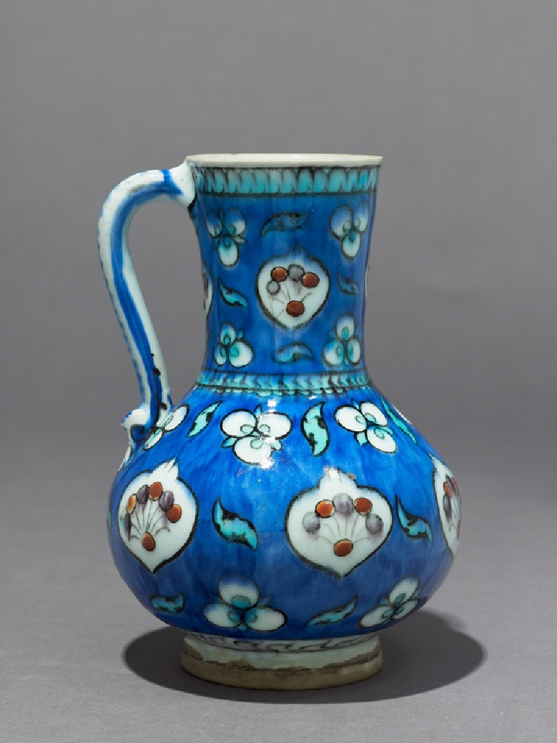 Jug with cusped medallions and çintamani motifs (EAX.3271, side          )