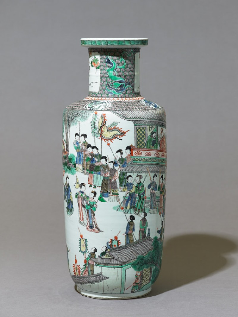 Vase with theatrical scene (EAX.3699, side          )