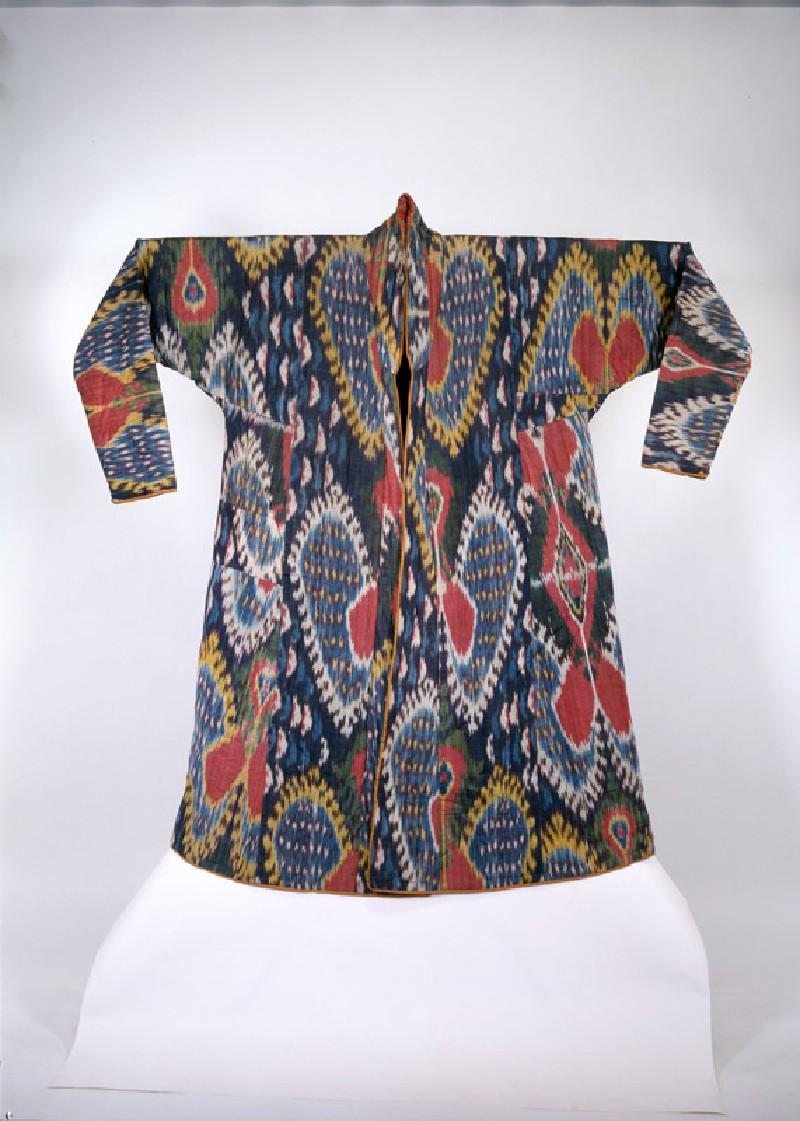 Ikat coat (EAX.3977, front          )