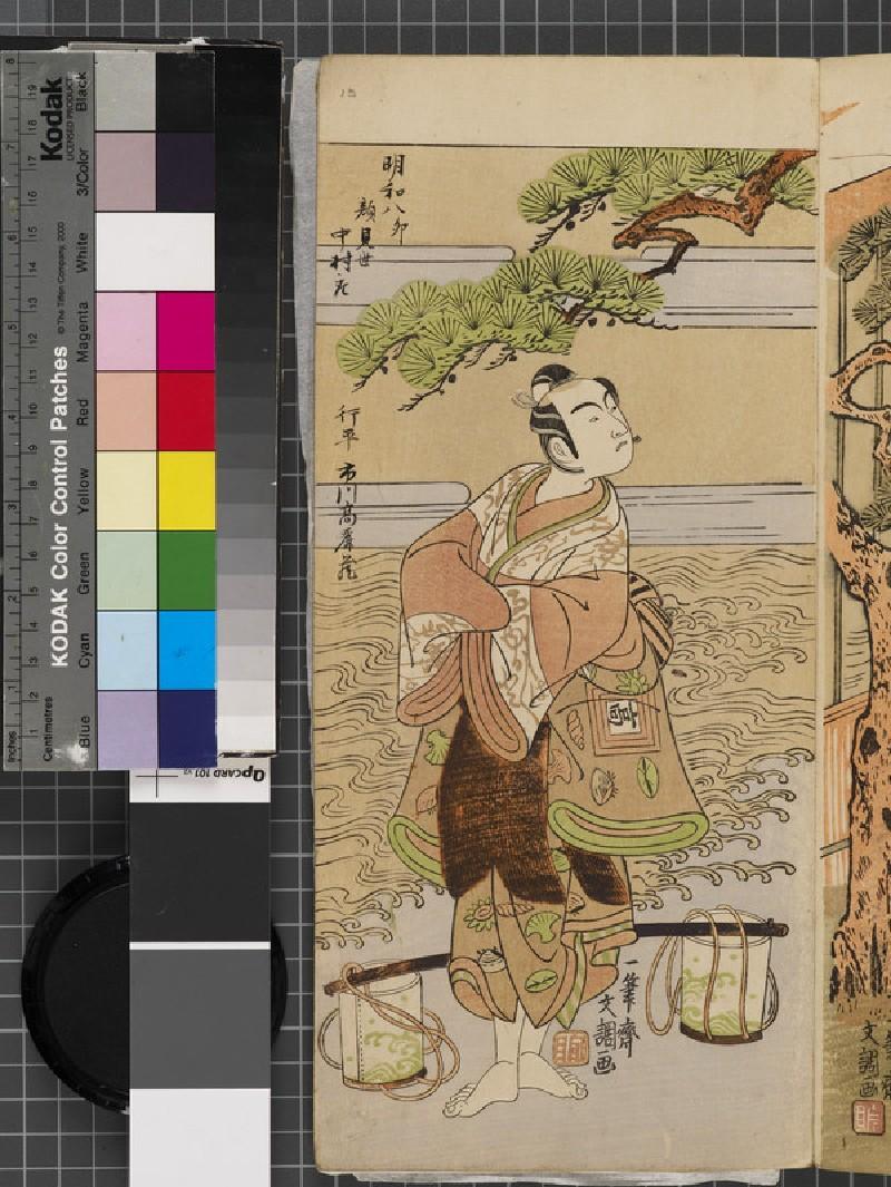 Ichikawa Komazō (EAX.4808, front          )