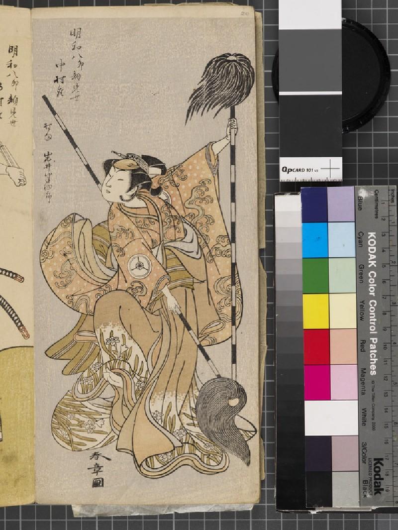 Iwai Hanshirō (EAX.4815, front          )