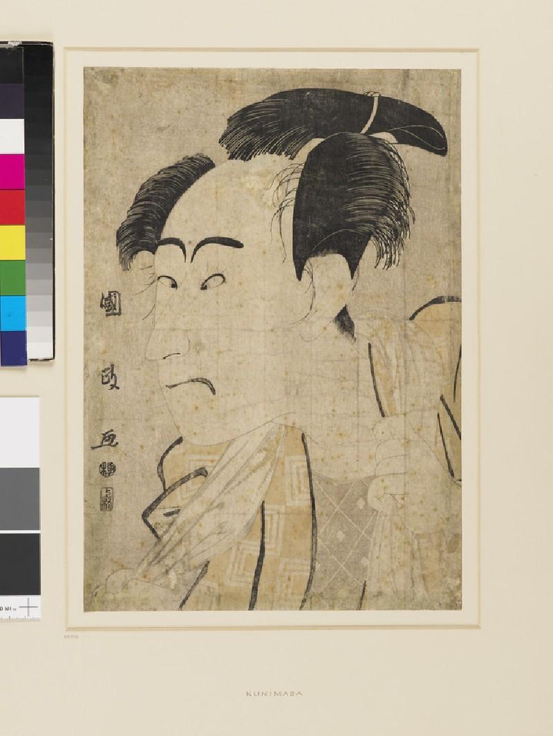 Bust portrait of Ichikawa Danjūrō VI, possibly as Shinsuke