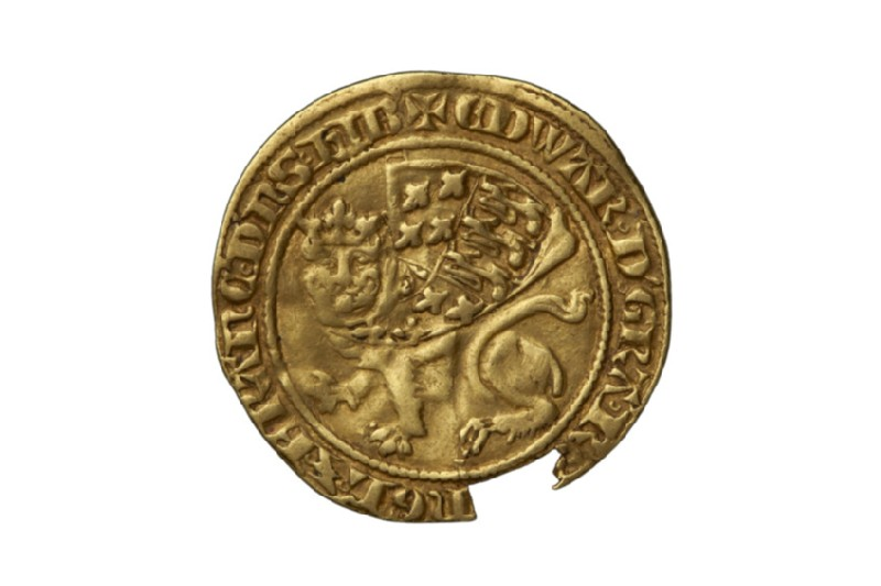 English gold coin (HCR8142)