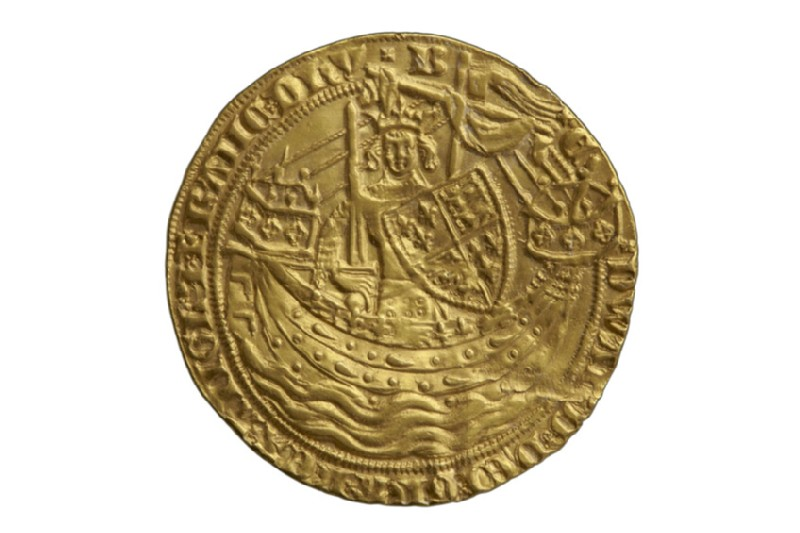 English gold coin (HCR8144)