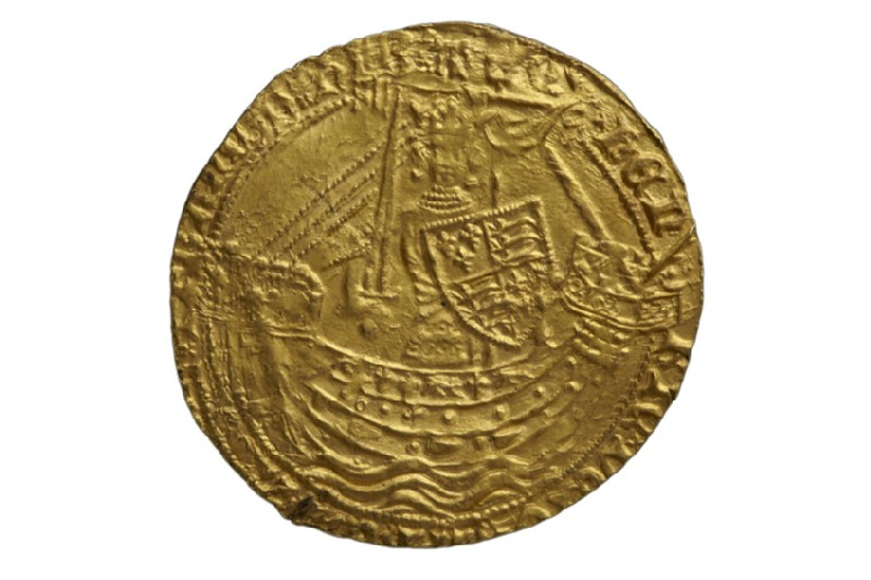 English gold coin of Henry IV (HCR8145)