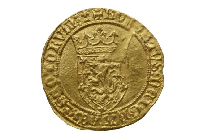 Scottish gold coin of Robert III (HCR8147)