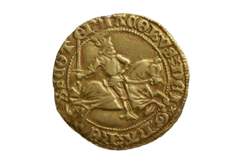 Scottish gold coin of James III (HCR8148)