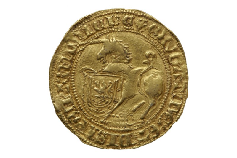 Scottish gold coin of James III (HCR8149)
