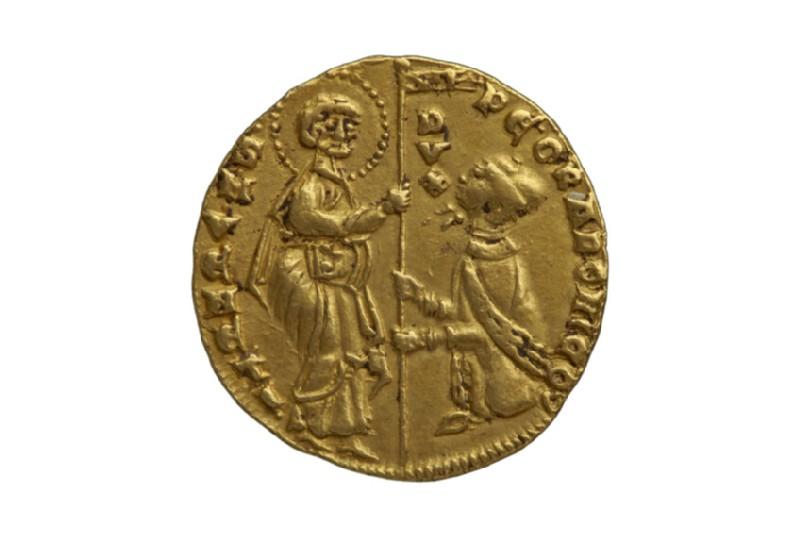 Venitian gold coin (Doge Pietro Gradenigo) (HCR8165)