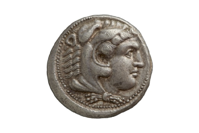 Ancient Greek coin (HCR9625)