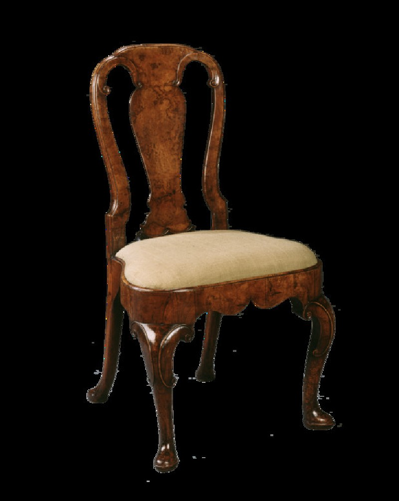 Side chair, one of a set of six