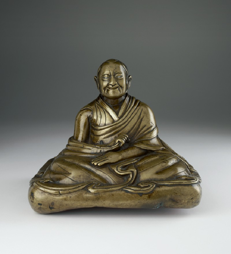 Seated lama portrait (LI1026.1, front)