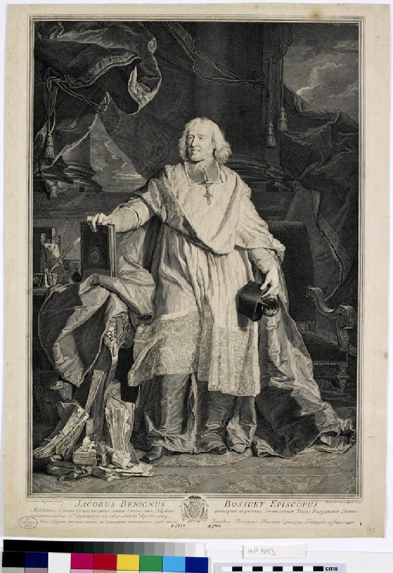Portrait of Jacques-Beninge Bossuet (WAHP593, HP593)