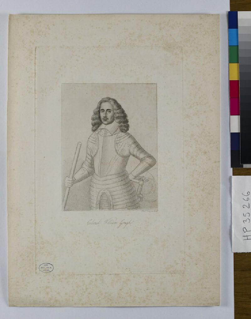 Portrait of Col.W. Gough