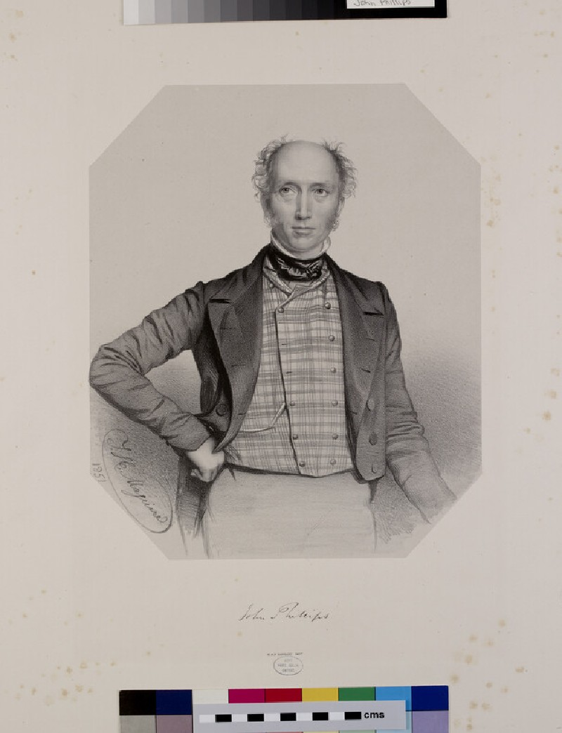 Portrait of John (1800-1874) Phillips (WAHP6452, HP6452)