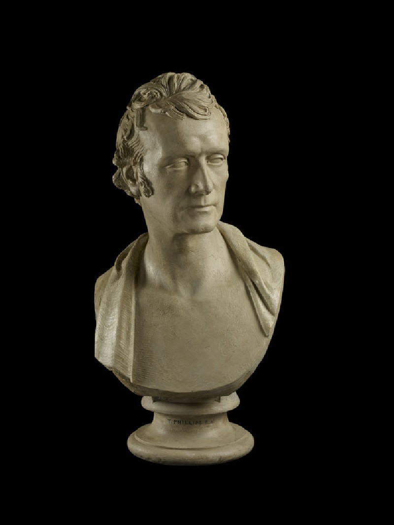 Bust of Thomas Phillips, RA (1770-1845) (WA1842.139)