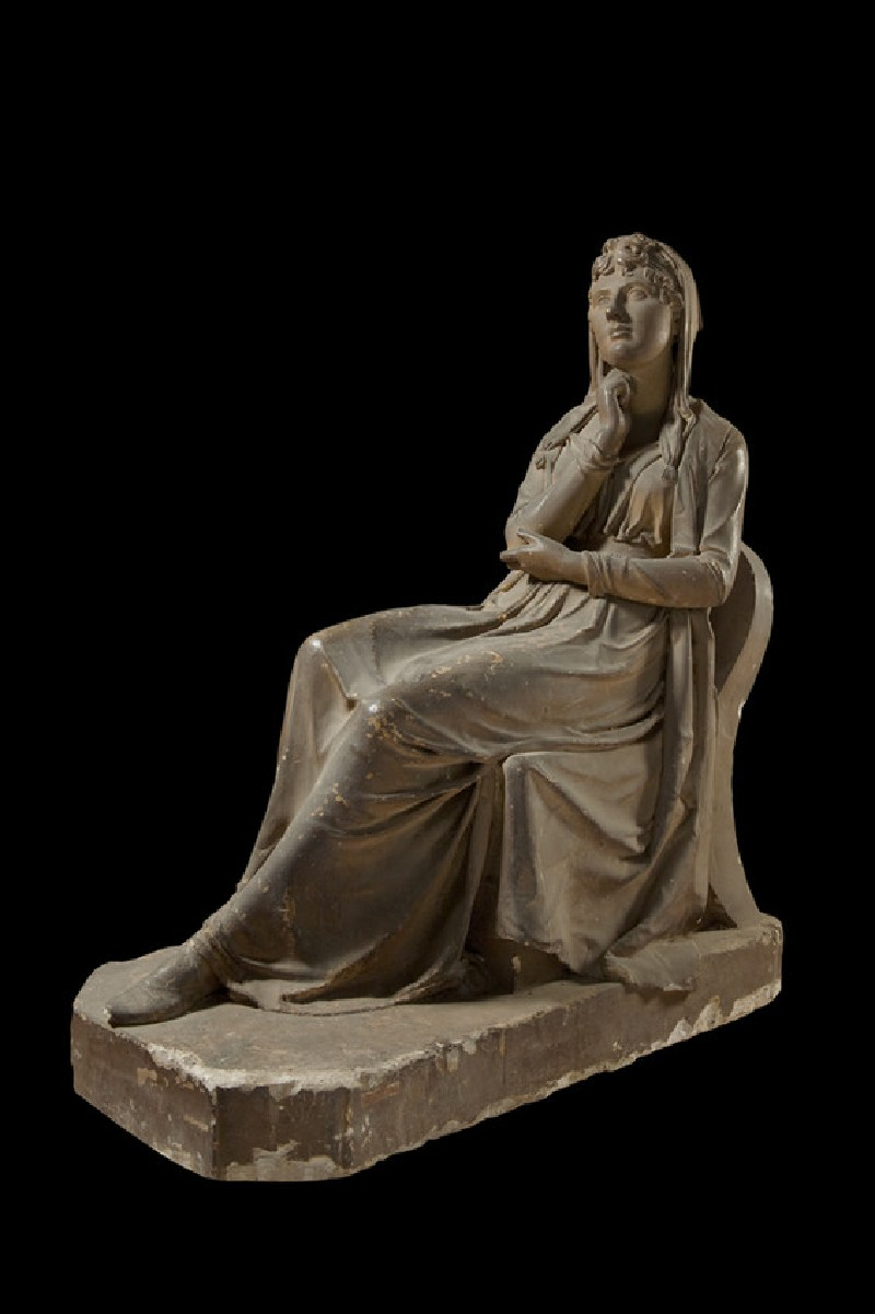 Statue of Theodosia Louisa, Countess of Liverpool (1767-1821), seated