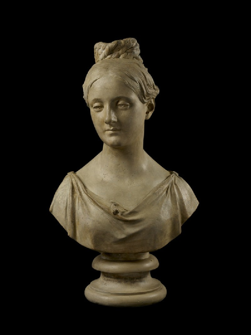 Bust of Princess Louisa Wilhelma Adelaide of Saxe-Weimar (1817-1832)