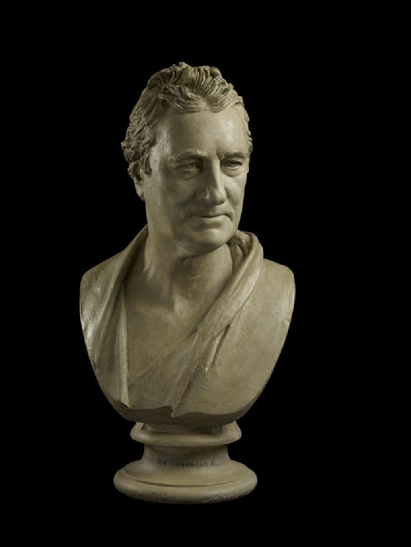 Bust of Sir Andrew Snape Hamond, Bt (1738-1828) (WA1842.89)