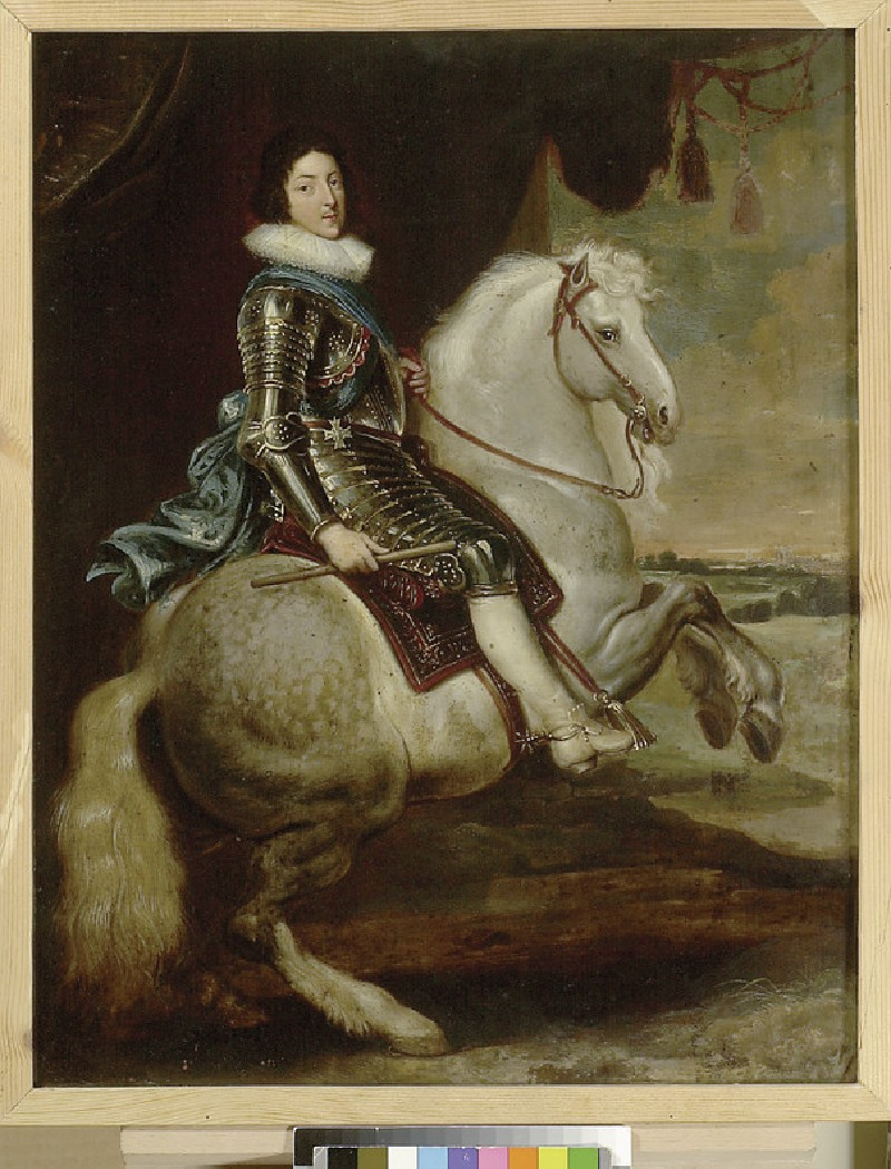 Louis XIII on Horseback