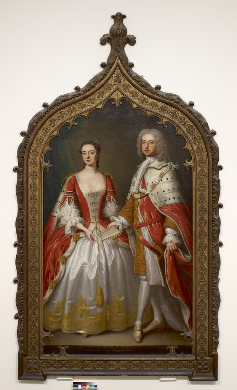 Thomas Fermor, 1st Earl of Pomfret and Henrietta Louisa, Countess of Pomfret
