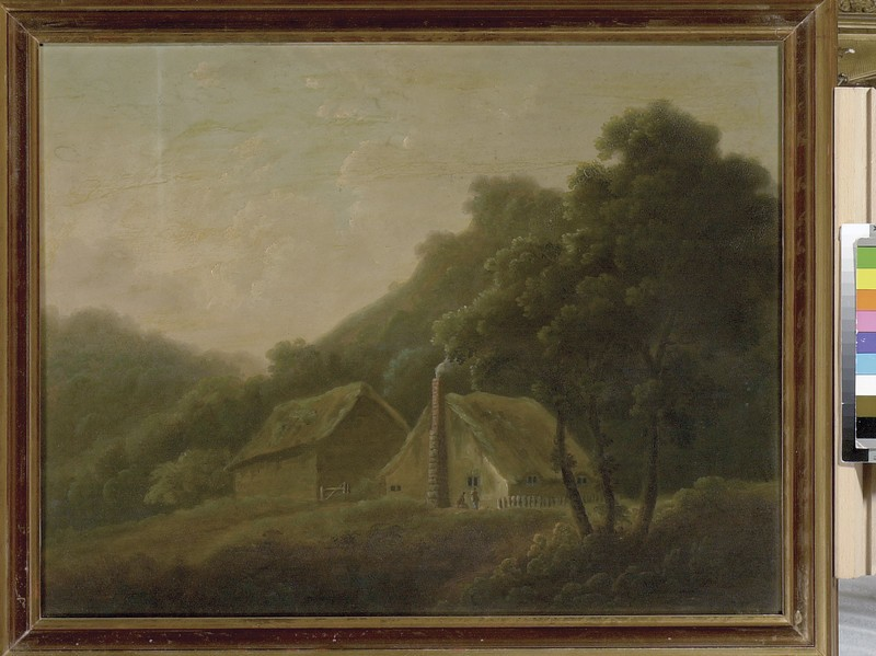 Cottages in Nuneham Park (WA1845.41)